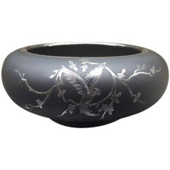 Rockwell Sterling Silver Overlay Bowl