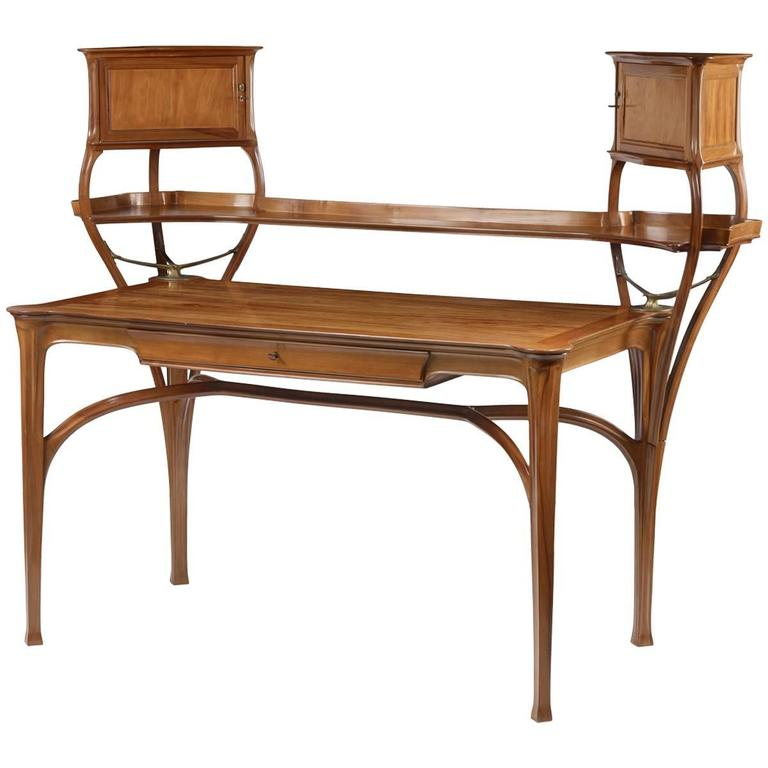 Tony selmersheim charles plumet an art nouveau desk at for Deco meuble furniture richibucto
