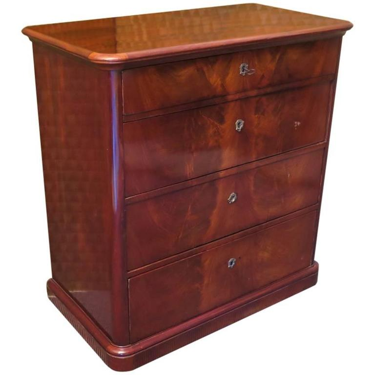 1920 Mahogany Austrian Chest of Drawers