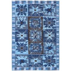 Contemporary Scandinavian/Swedish Geometric Design Rug