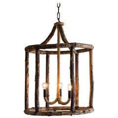 Georgian Style Rustic Timber Lantern, Holland