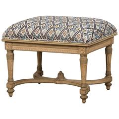 French Louis XVI Style Painted Bench, circa 1890