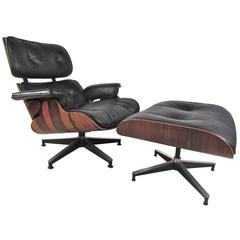 Herman Miller 670 Lounge Chair with Ottoman by Charles Eames
