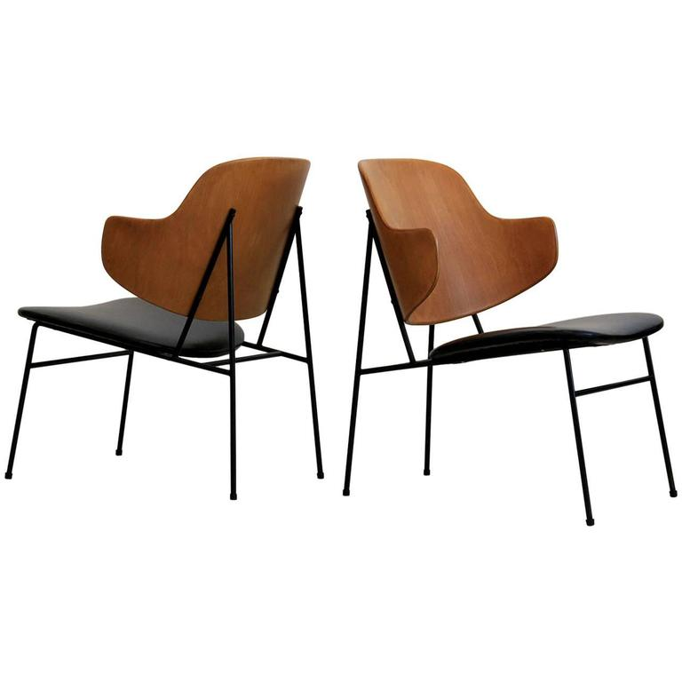 "Kofod-Larsen ""Penguin"" Chairs For Sale"