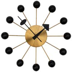 Vintage George Nelson Ball Clock for Howard Miller