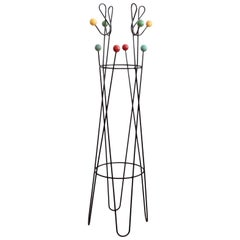 Multicolored Coat Rack Stand by Roger Feraud