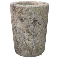 18th Century Antique Limestone Trough