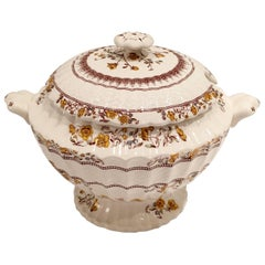 """20th Century Spode England """"Buttercup""""Large  Lidded Soup Tureen"""