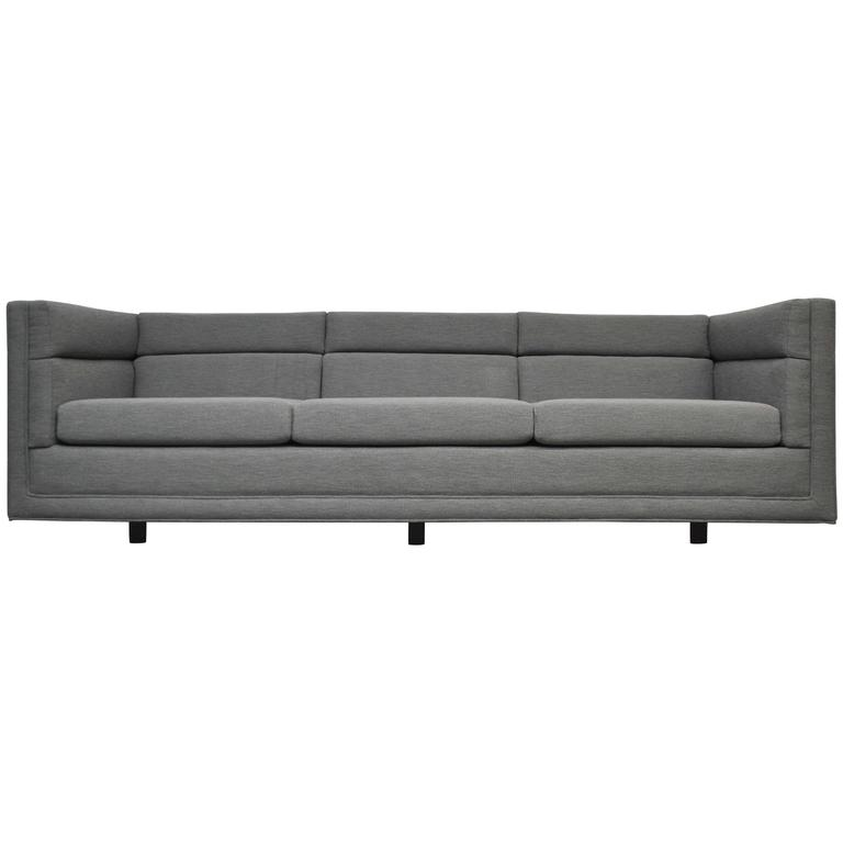 Dunbar Model 7140 Channel Sofa by Roger Sprunger For Sale