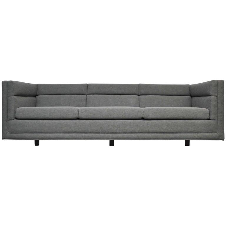 Dunbar Model 7140 Channel Sofa by Roger Sprunger For Sale