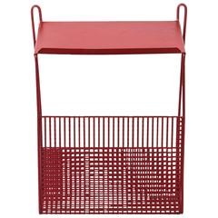 Pilastro Perforated Metal Wall Mount Telephone Table