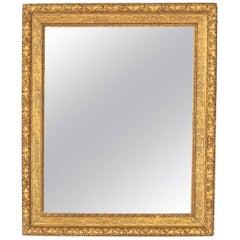 French Napoleon III Giltwood Mirror, circa 1870s
