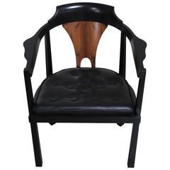"""Horseshoe"" Armchair by Edward Wormley"