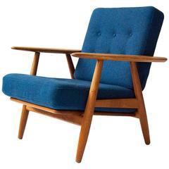 Hans J. Wegner GE-240 Oak 'Cigar' Chair, circa 1955