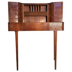 Beautiful Curved Desk Attributed to Guglielmo Ulrich, 1940