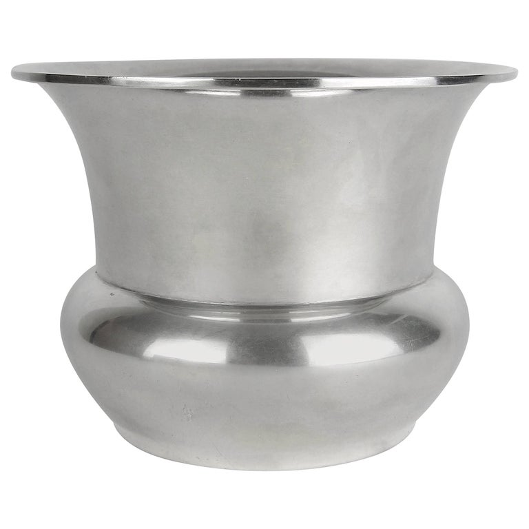 Marie Zimmermann American Sterling Silver Vase, circa 1920 For Sale