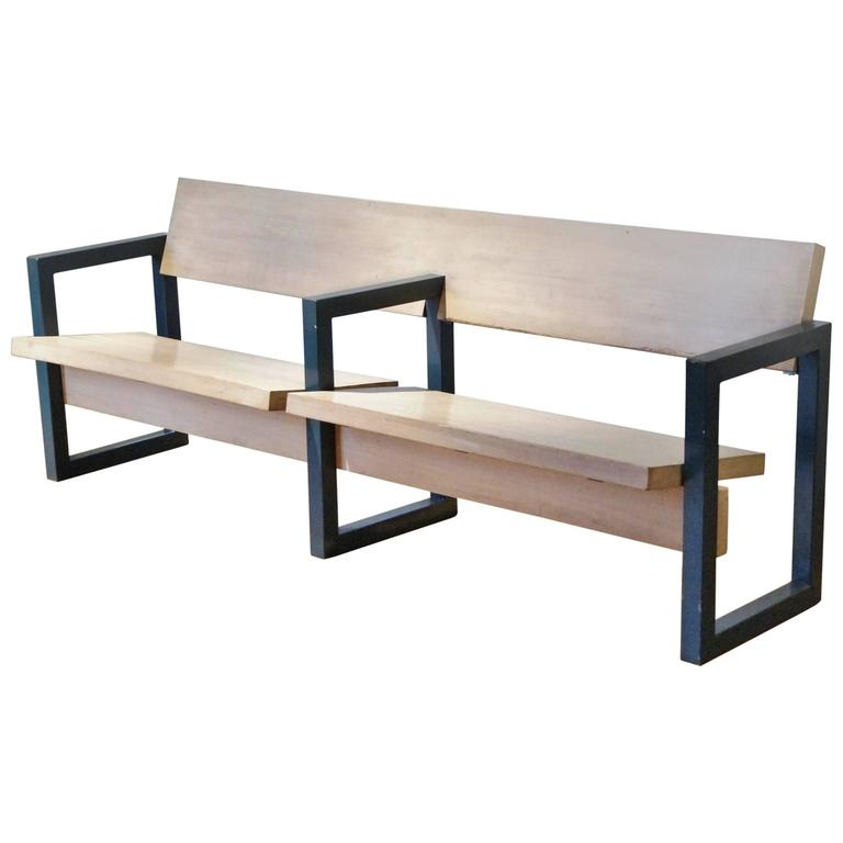 Gerrit Rietveld Church Pew For Hoeksteen Church Uithoorn Netherlands 1963 For Sale At 1stdibs