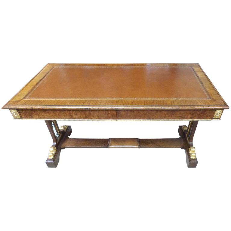 Oak Writing Table 1