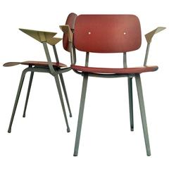 Pair of Revolt Chairs by Friso Kramer, Netherlands