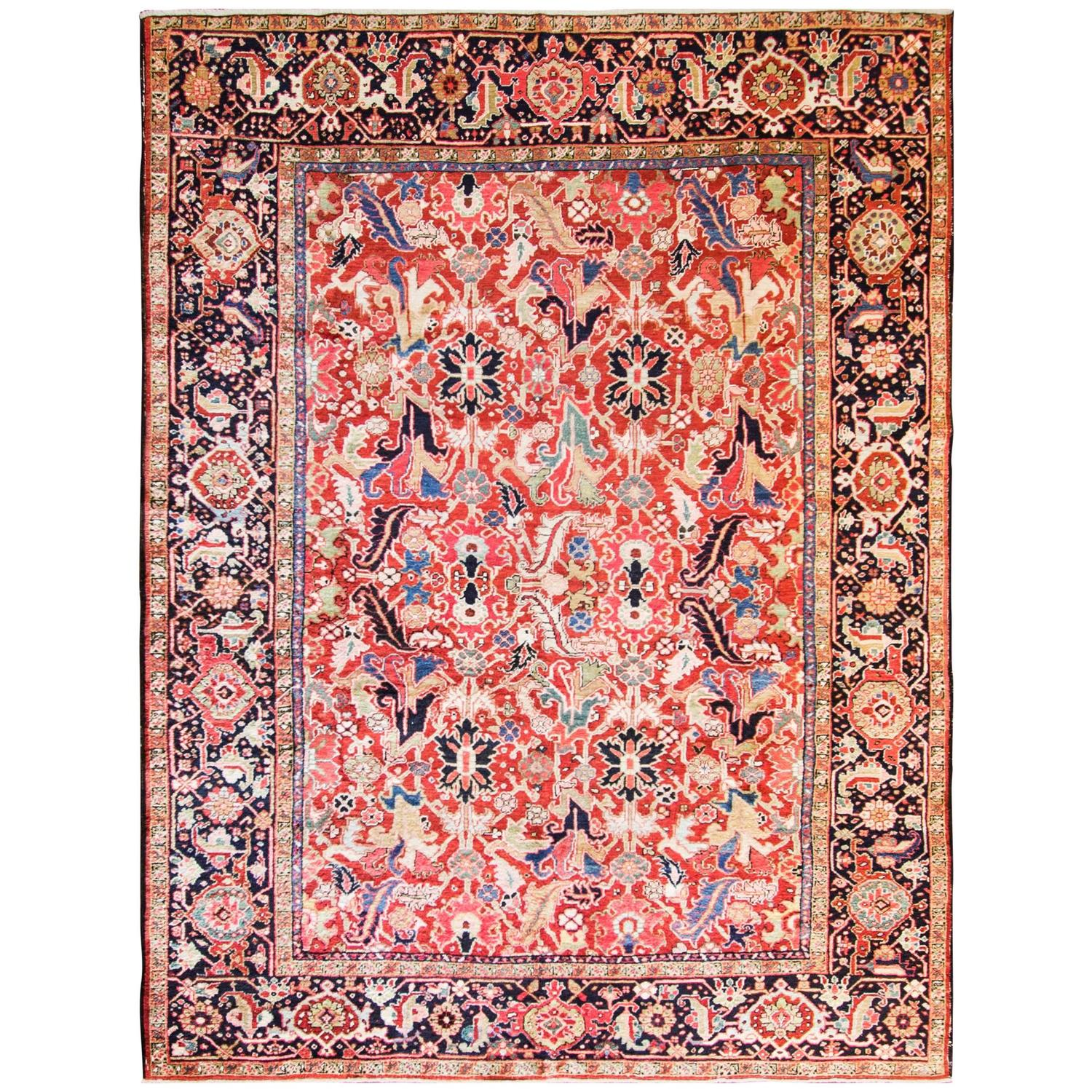 Incredible Persian Heriz For Sale At 1stdibs