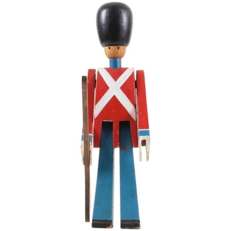 Royal Guardsman with Rifle Designed by Kay Bojesen