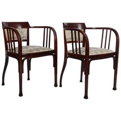 Thonet Armchairs by Otto Wagner