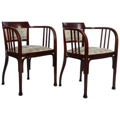 Thonet Armchairs Attributed to Otto Wagner