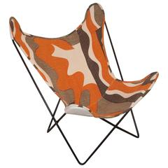 Knoll Butterfly Chair with Custom Sling