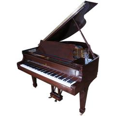 Steinway & Sons Model 'S' Baby Grand Piano, Mahogany Case, Location China
