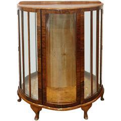 Handsome Deco Style Curio Cabinet