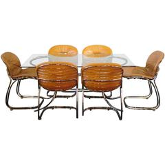 1970s Italian Matched Table Set by 'Design Legend' Gastone Rinaldi for RIMA