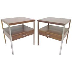 Pair of End Tables or Nightstands by Paul McCobb for Calvin, circa 1950s