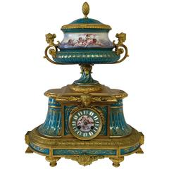 19th Century Sevres Clock