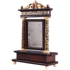 17th Century Italian Inlaid Mirror