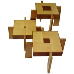 Toqapu Studio Nest of Stacking Tables , circa 1985