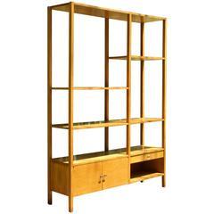 1950s Paul McCobb Room Divider Bookcase Wall Unit