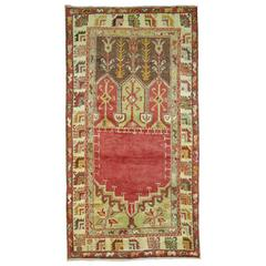 Turkish Oushak Anatolian Prayer Rug