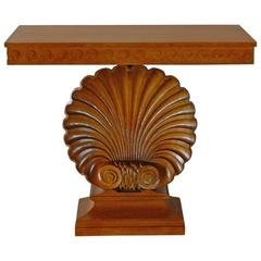 Edward Wormley Shell Console Table for Dunbar