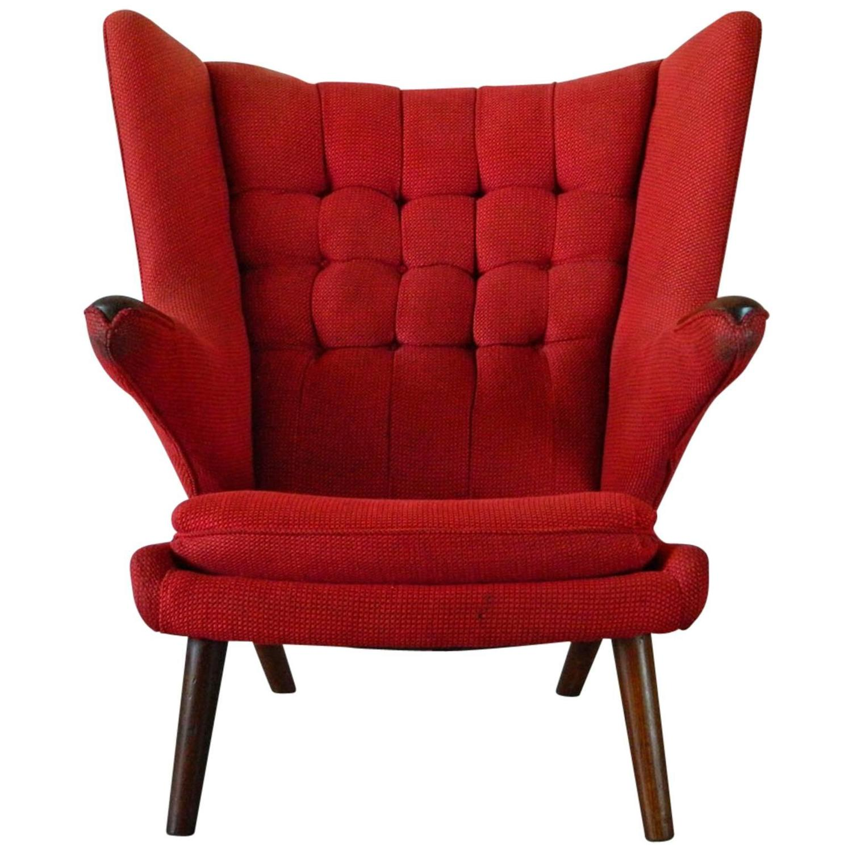 Hans Wegner Papa Bear Chair For Sale At 1stdibs