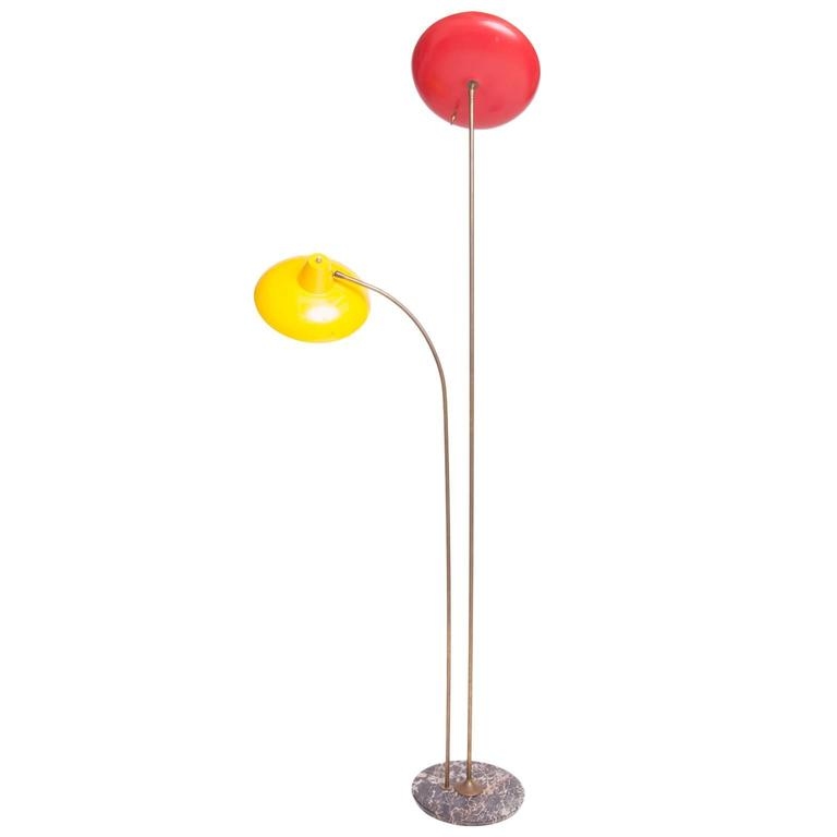 Mid-Century Standing Lamp, Probably Italian
