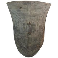 19th Century Large Hide Ethiopian Shield