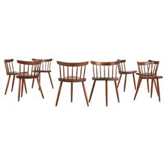 "Important Set of Eight, 1960s George Nakashima ""Mira"" Chairs *SALE*"