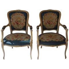 Set of Two Club Chairs