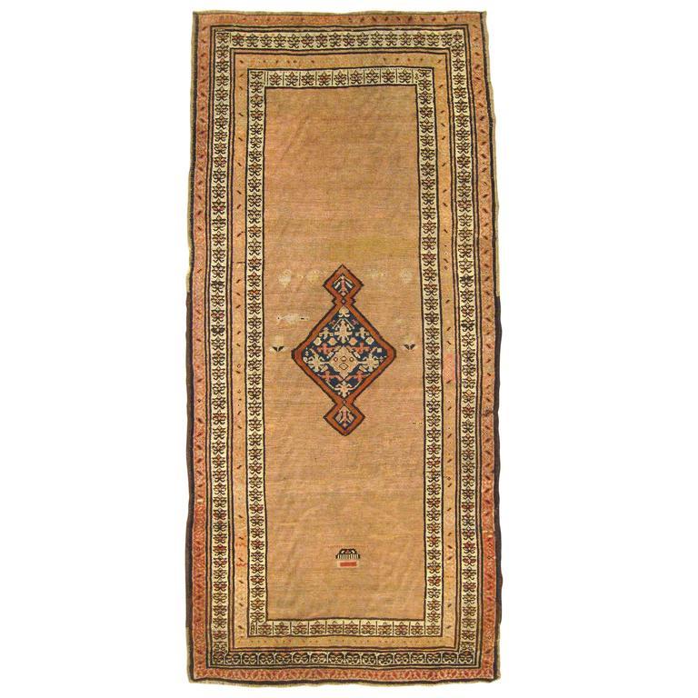 Antique N W Persia Decorative Oriental Carpet Small