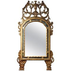 Diminutive French Trumeau Mirror For Sale At 1stdibs