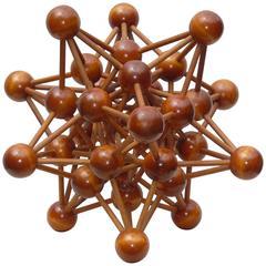 Enormous 1950s Molecular Model
