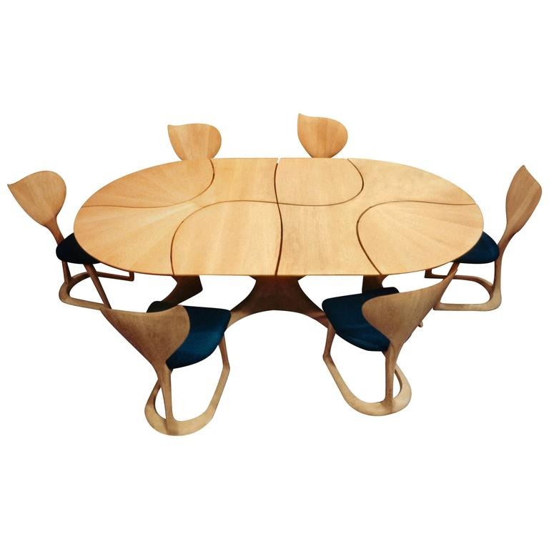 """Lily Pad II"" Dining Table, Designed 1982"