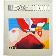 Rare Tom Wesselman Book, 1st Edition, 1980