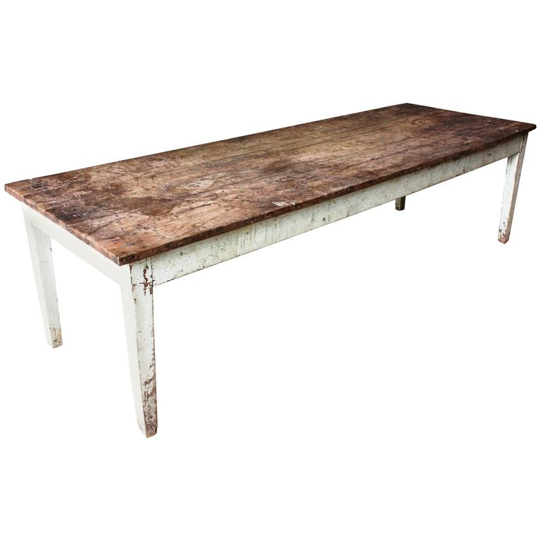 Rustic French Country Farm Table For Sale at 1stdibs
