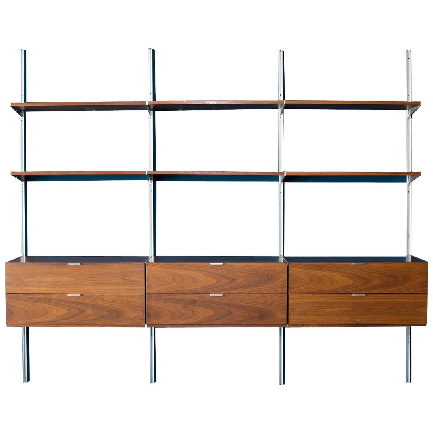 George Nelson Herman Miller CSS Wall Unit at 1stdibs